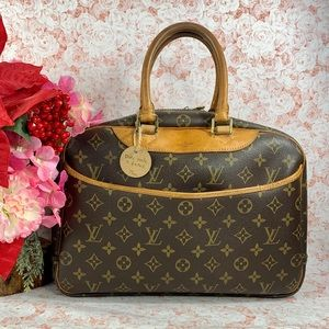 Authentic Louis Vuitton Leather Satchel